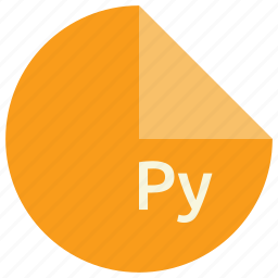 extension, file, format, py, python icon