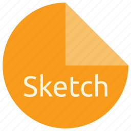 extension, file, format, graphics, scss, sketch, software icon