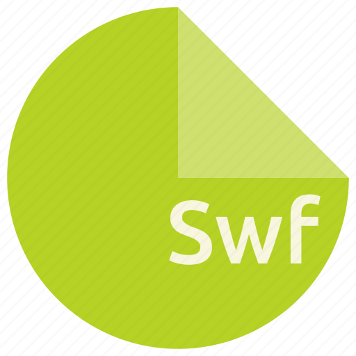 adobe, extension, file, flash, format, shockwave, swf icon