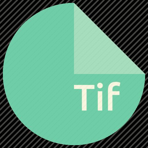 file, format, image, tif icon