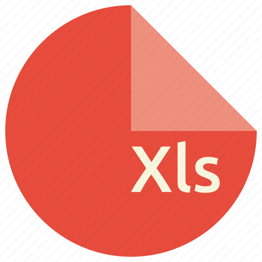 document, extension, file, format, spreadsheet, xls icon