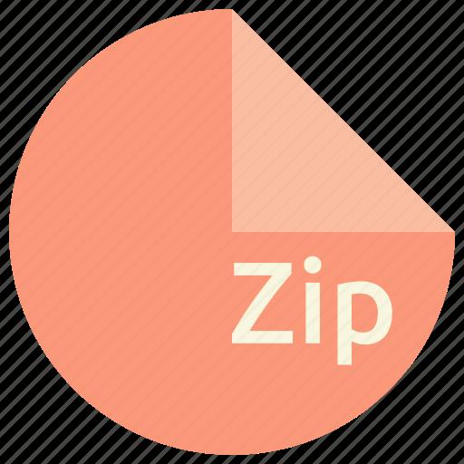 compression, extension, file, format, technique, zip icon