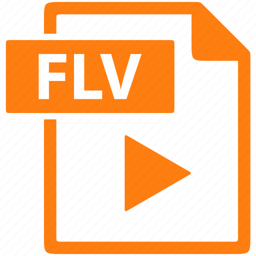 document, extension, file, flv, format, text icon