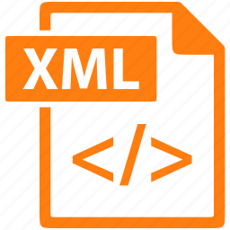 Document, extension, file, format, xml icon | Icon search ...