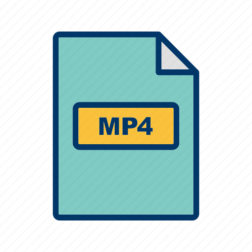Mp4, file, format icon - Download on Iconfinder