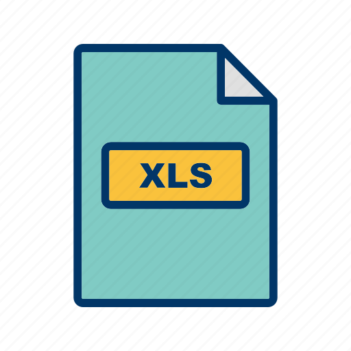 file extension, file format, xls icon