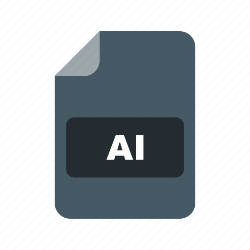 ai, file, file extension, format icon