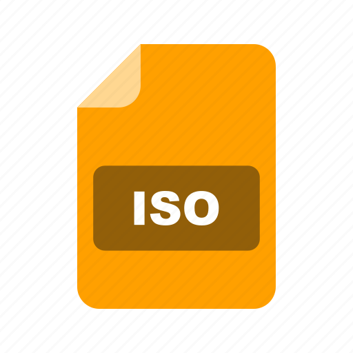 file, file extension, format, iso icon