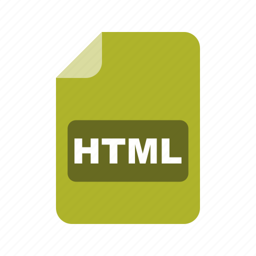file extension, file format, html icon