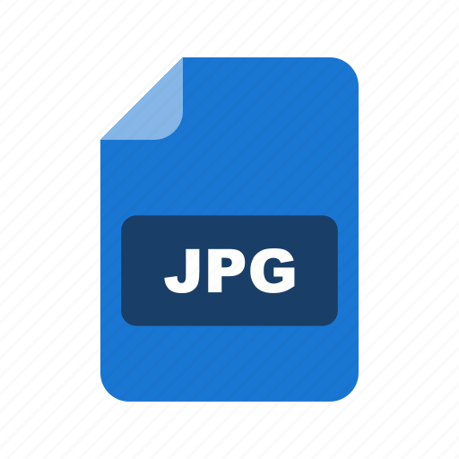 file, file extension, format, jpg icon