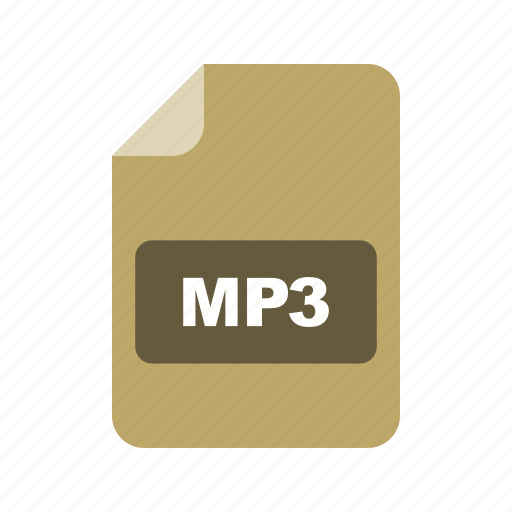 file, file extension, format, mp3 icon