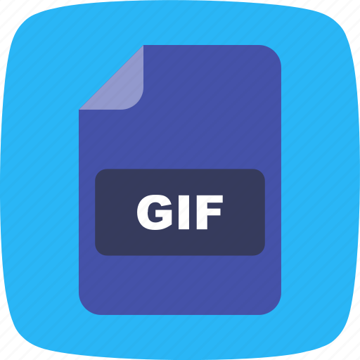 file, file extension, format, gif icon