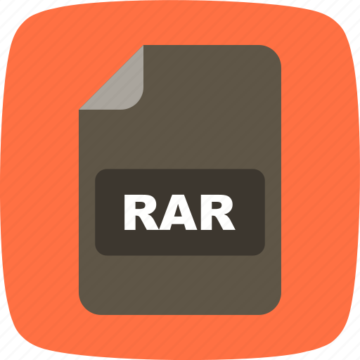 file extension, file format, rar icon