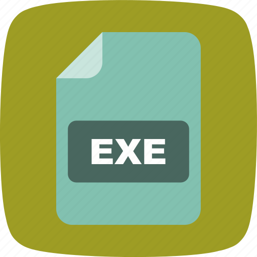 exe, file, file extension, format icon