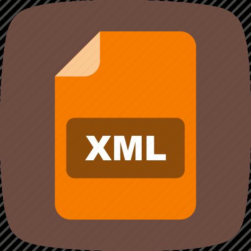 file extension, file format, xml icon