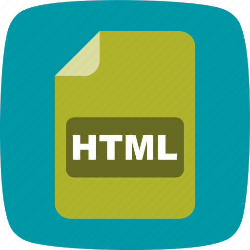 file, file extension, format, html icon