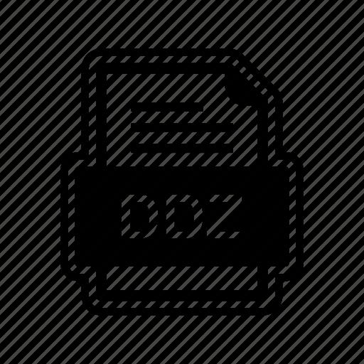 Ddz, document, file, format icon - Download on Iconfinder