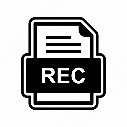 document, file, format, rec icon