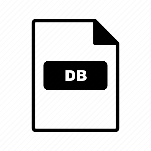 Db, file, format icon - Download on Iconfinder on Iconfinder