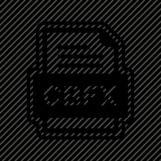 cbfx, document, file, format icon