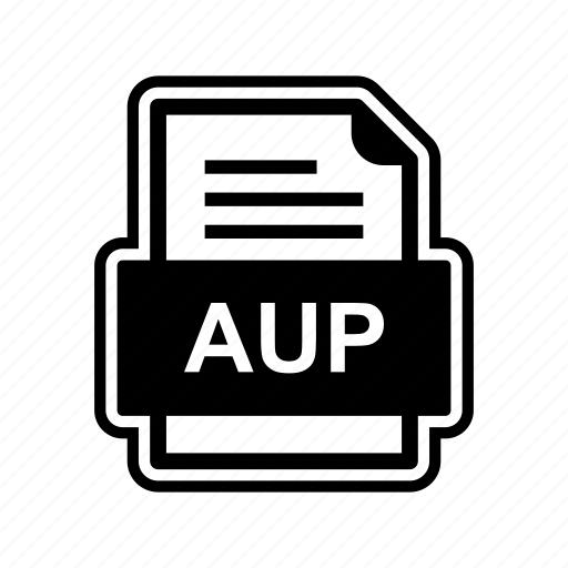aup, document, file, format icon