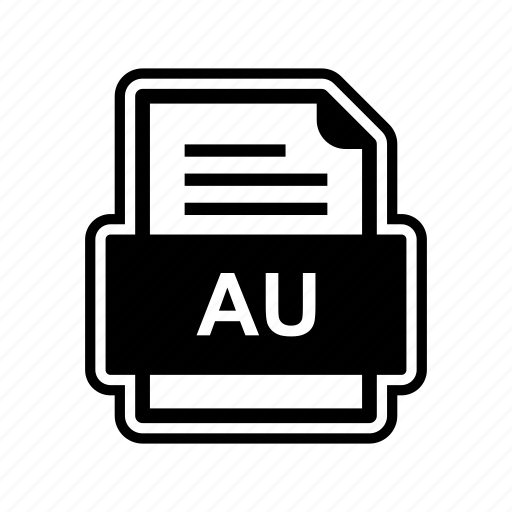 au, document, file, format icon