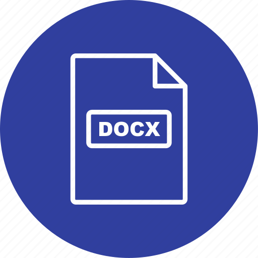 docx, file extension, file format icon