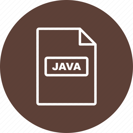 file, file extension, format, java icon