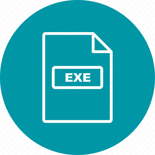 exe, file extension, file format icon