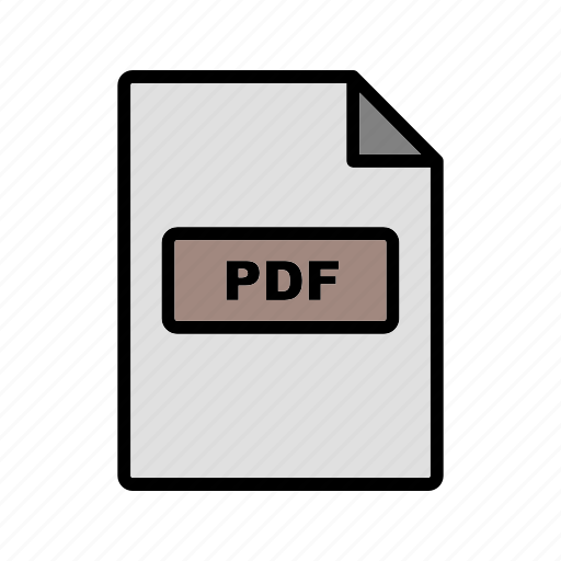 file, file extension, format, pdf icon