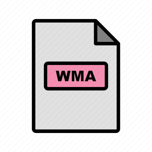 file, file extension, format, wma icon