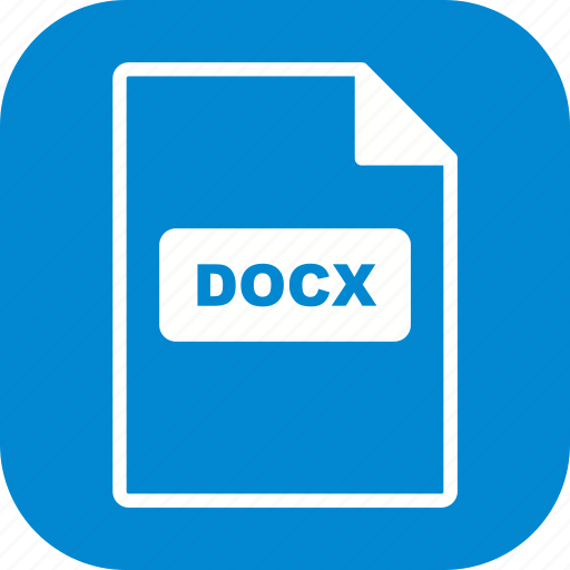 docx, file, file extension, format icon