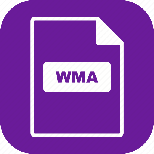 file extension, file format, wma icon