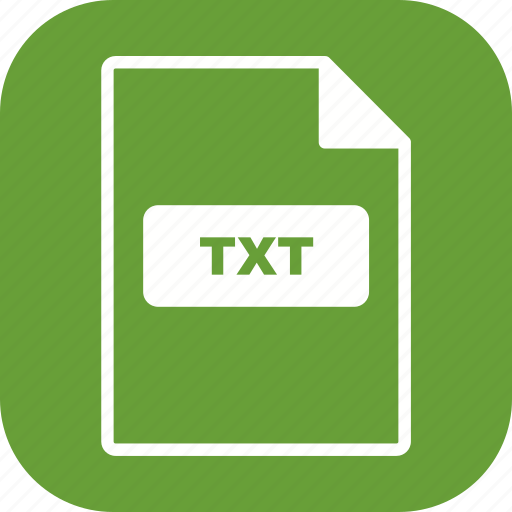 file extension, file format, txt icon