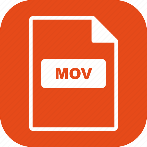 file, file extension, format, mov icon
