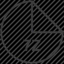 7z, compression, extension, file, format, technique icon