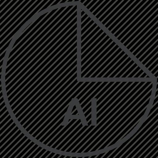 adobe, ai, extension, file, format, illustrator icon