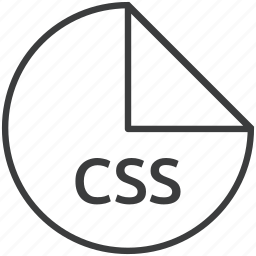 css, extension, file, format, stylesheet, web icon