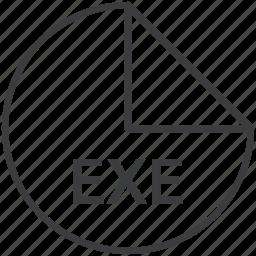 exe, executable, extension, file, format, windows icon