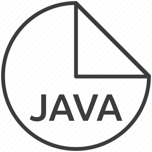file, format, java, language, programming icon