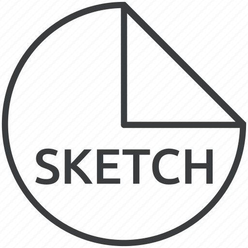 extension, file, format, scss, sketch icon
