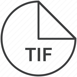 extension, file, format, tif icon