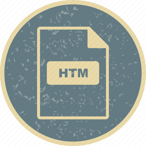file, file extension, format, htm icon