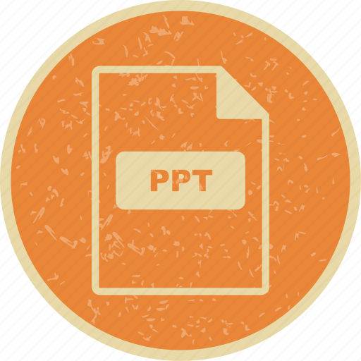 file, file extension, format, ppt icon