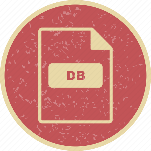 db, file extension, file format icon