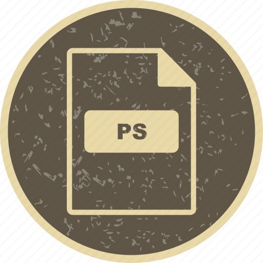 file extension, file format, ps icon