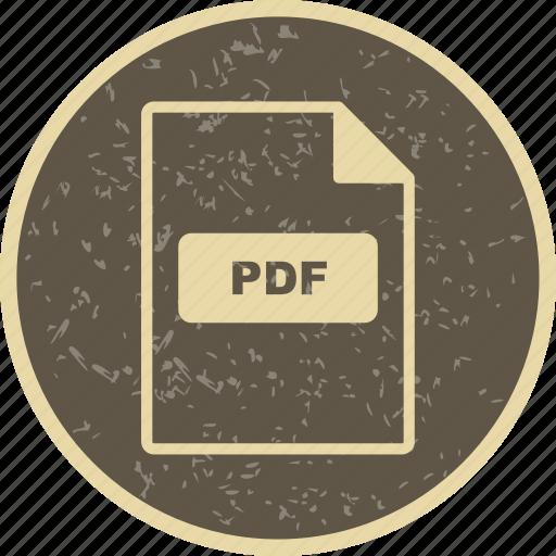 file, file extension, format, pdf icon