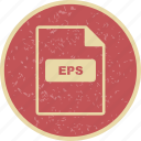 eps, file extension, file format icon