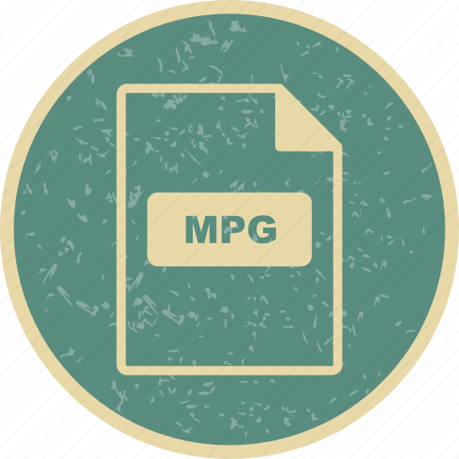 file extension, file format, mpg icon