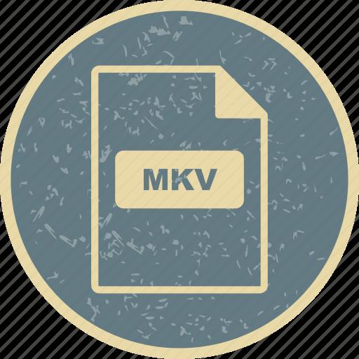 file, file extension, format, mkv icon